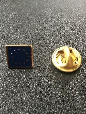 European Union EU flag collectable pin badge Brussels Brexit Europe