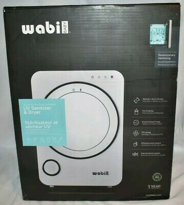 Wabi Baby UV Sanitizer & Dryer WA-9900N-PT, BPA Free, Touch Controls