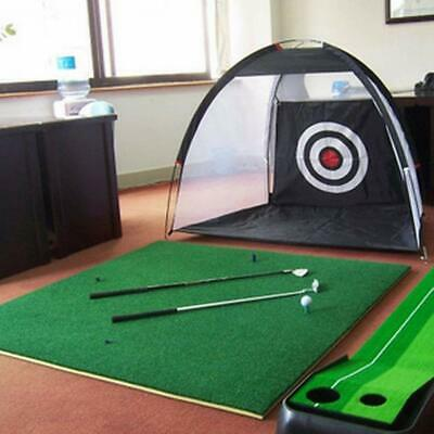 2m Golf Driving Cage Practice Net Outdoor Indoor Golf Hitting Net Training Aids