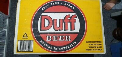 Collectable Duff Beer full carton