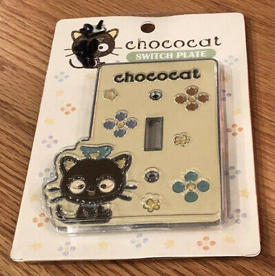 Chococat SANRIO Light Switch Power Outlet Wall Cover Plate Home decor 2005