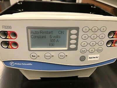 Fisher Scientific Electrophoresis Power Suppy FB200