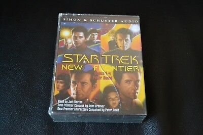 Peter David ‎– Star Trek - New Frontier (Books 1-4) x4 Cassete Audiobook 1997 Ne