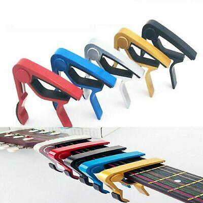 Single-handed Quick Change Aluminum Capo Electric Acoustic 6-string Guitar Capo#