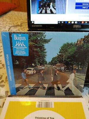 The Beatles - Abbey Road Anniversary Edition Cd Album 2019 (New Sealed)