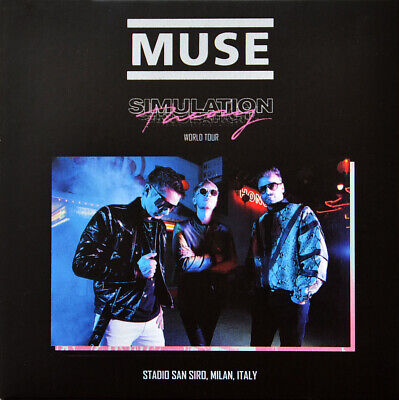 MUSE Live in Milan 2019 SIMULATION THEORY WORLD TOUR 2CD set in digipak