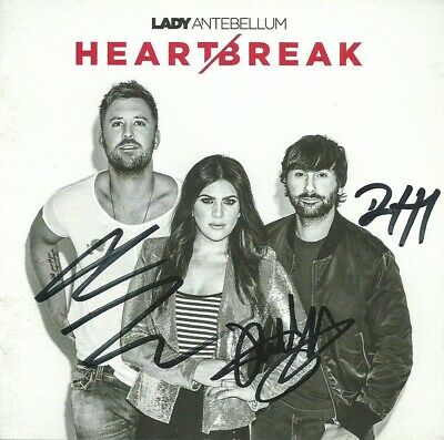** AUTOGRAPHED ** Heart Break by Lady Antebellum