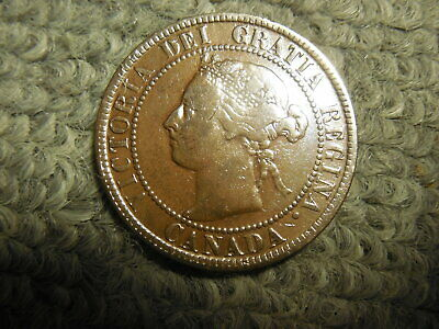 1895 Canadian Large Cent in about VG condition.   But you decide!!!!!!!!!!