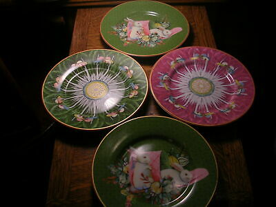 Williams Sonoma Famille Rose Appetizer Plates Set Of Four New With Tags