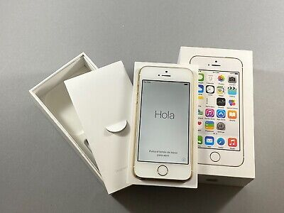 NEW Apple iPhone 5S 16GB Gold White GSM Unlocked A1533 4G LTE AT&T TMobile Claro