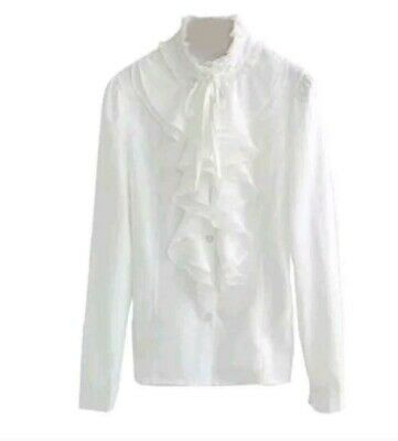 BRAND NEW IVORY LEAD REIN BLOUSE SIZE 14