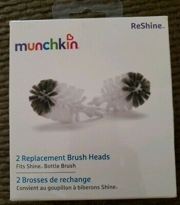 Munchkin ReShine 2 Replacement Bottle Brush Heads