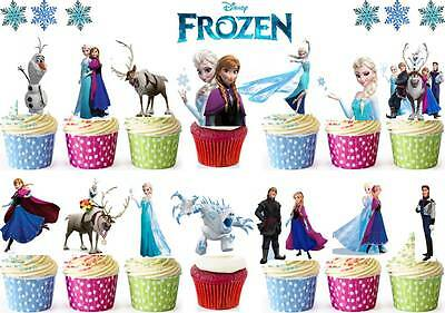 Skylanders x16 Fairy  Cup Cake  Edible Toppers Stand ups Wafer Decorations *DIY*