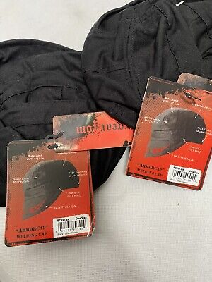 1 EACH REVCO BC5W-BK DOUBLE LAYER COTTON WELDING CAP WITH NECK GUARD