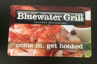 Bluewater Grill Seafood Restaurant Gift Card Value $50 Asking $44