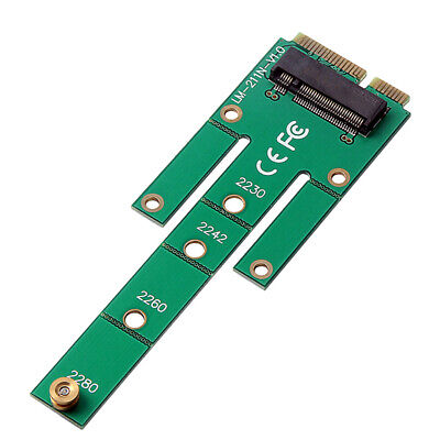 6Gbps mSATA SSD to NGFF M.2 ( B + M ) Adapter Converter Card for Solid State