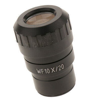 WF10X Microscope 20mm Widefield Adjustable Wide Angle Eyepiece Lens 30mm