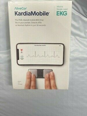 AliveCor Kardia Mobile Single-Lead Electrocardiogram 30-Second EKG Detection