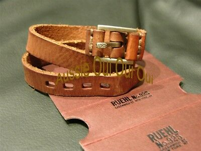 ABERCROMBIE & FITCH vintage adjustable leather wristbands