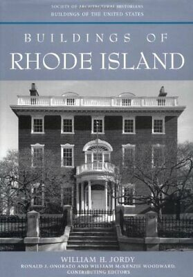 BUILDINGS OF RHODE ISLAND (BUILDINGS OF UNITED STATES) By William H. Jordy Mint