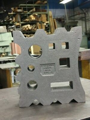 66# Blacksmith Swage Block direct from Holland Anvil