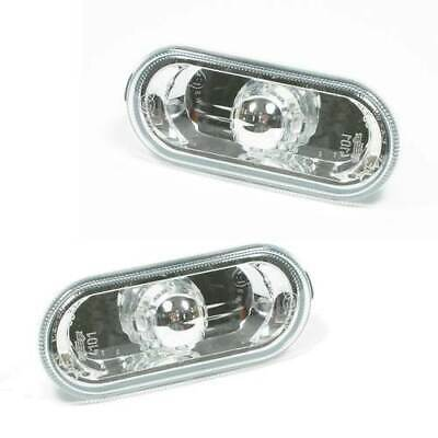 Vw Beetle 1999-2006 Crystal Clear Side Repeaters 1 Pair
