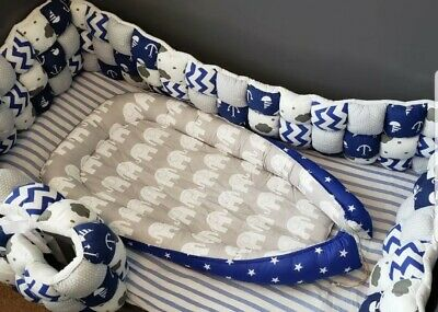 Baby Boy Portable Baby Nest Bed