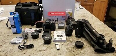 Canon Rebel T6with  lenses, Camera bag, and battery charger, tripod and more!