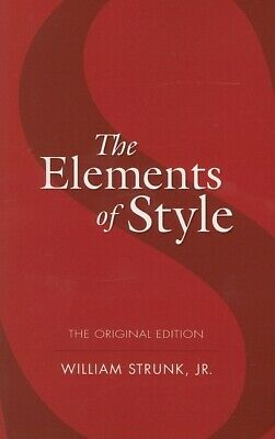 Dover Language Guides: The Elements of Style by E. B. White and William, Jr....