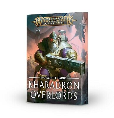 Warscroll Cards Kharadron Overlords Warhammer AOS NEW