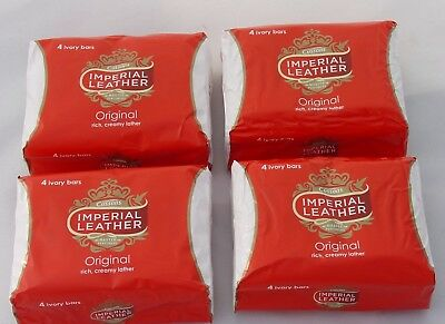 Cussons Imperial Leather Original Ivory Soap Bars 100g x4 or 8 or 16