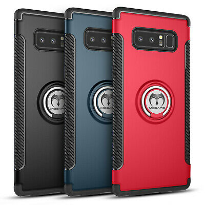 Samsung Galaxy S9 S10 Plus Note 9 Case Heavy Duty Shockproof Card Holder Cover