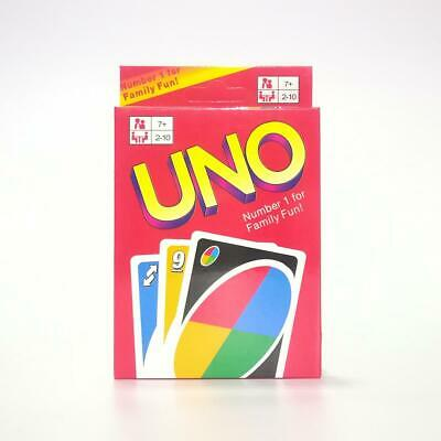 UNO Wild Card Game Original Classic Party Favor Playing Fun Friend & Family New