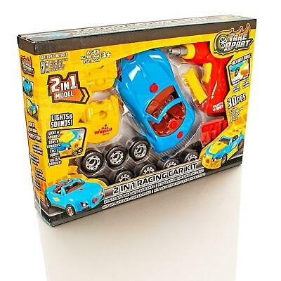 2020 Kids Assembly Take Race Car Apart DIY Educational Construction Toys Tools