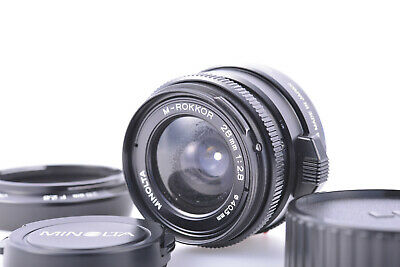 AS-IS Minolta M-Rokkor 28mm f/2.8 For Leica Leitz M Mount CL CLE From Japan