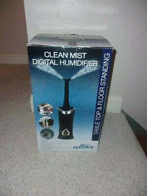 Air Innovations Clean Mist Digital Humidifier MH-701 Complete Working With Box