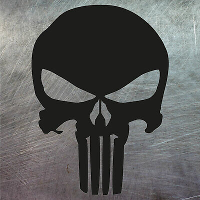 2X Vinilo Adhesivo The Punisher, Pegatina, Logo, Calavera, Adesivi, Moto, Decal