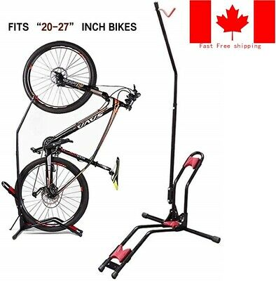 Mountain Bike Rack Upright Storage Stand Adjustable Bicycle Carrier Vertical