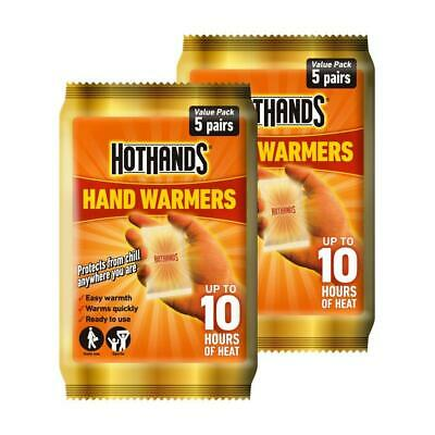 Hot Hand Warmer Hothands Hand 2 Pack Feet Foot Toe Insole Heat Warming Pocket