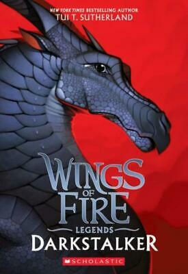 Wings of Fire: Darkstalker by Tui T. Sutherland (2017, Paperback)