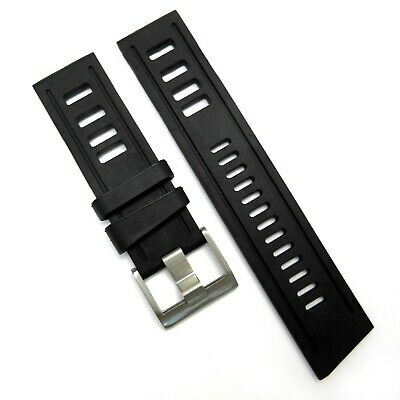 ISO style RUBBER STRAP for Omega Seiko Rolex Tag Heuer Oris divers watch band