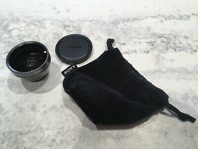 Sony VCL-0630X Wide Angle Lens for Camcorder with Protective Caps!