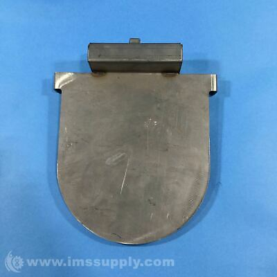 Discharge Flapper Flat Plate, Magnet Centered on End USIP