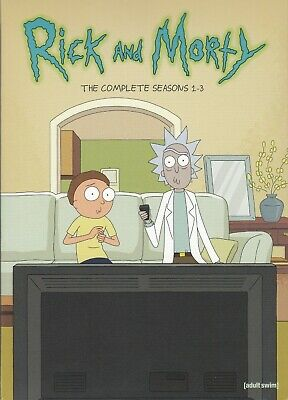 Rick & Morty The Complete Seasons 1-3 (Dvd)(6 Disc Set) (Used)