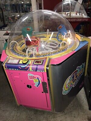 Cyclone Ticket Redemption Arcade Game---Ready For Card Swipe System--Will Ship