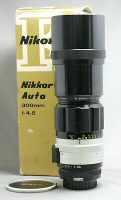 Nikon NIKKOR 300mm f/4.5 Non-Ai Lens Excellent Used #420395