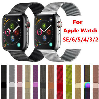 For Apple Watch Strap Band iWatch Series 5 4 3 2 1 Milanese Stainless Steel Loop