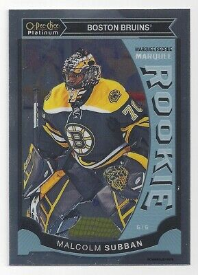 2015-16 OPC Platinum Marquee Rookies Malcolm Subban