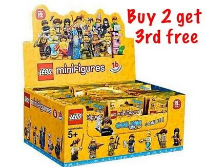 Lego Minifigures Series 12 -71007 - RARE(choose your minifigure)
