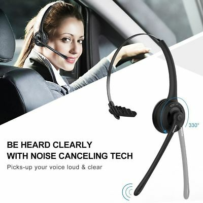 Mpow Bluetooth Headset Wireless Headphone Noise Cancelling Hands-free Calling